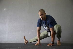 Stretching der Oberschenkelinnenseite