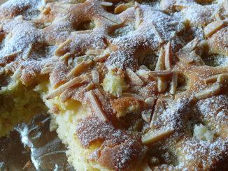 Kuchen mit Trauben