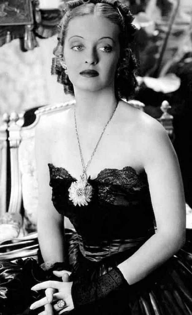 Lippenstiftmode Bette Davis