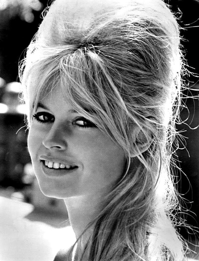 Lippenstiftmode Brigitte Bardot