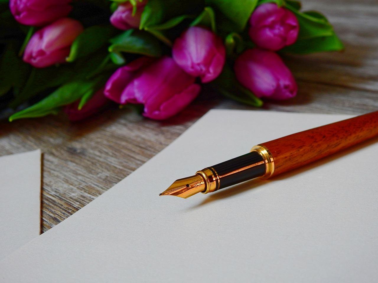 Einen Brief an den Verstorbenen zu schreiben, kann heilsam sein.