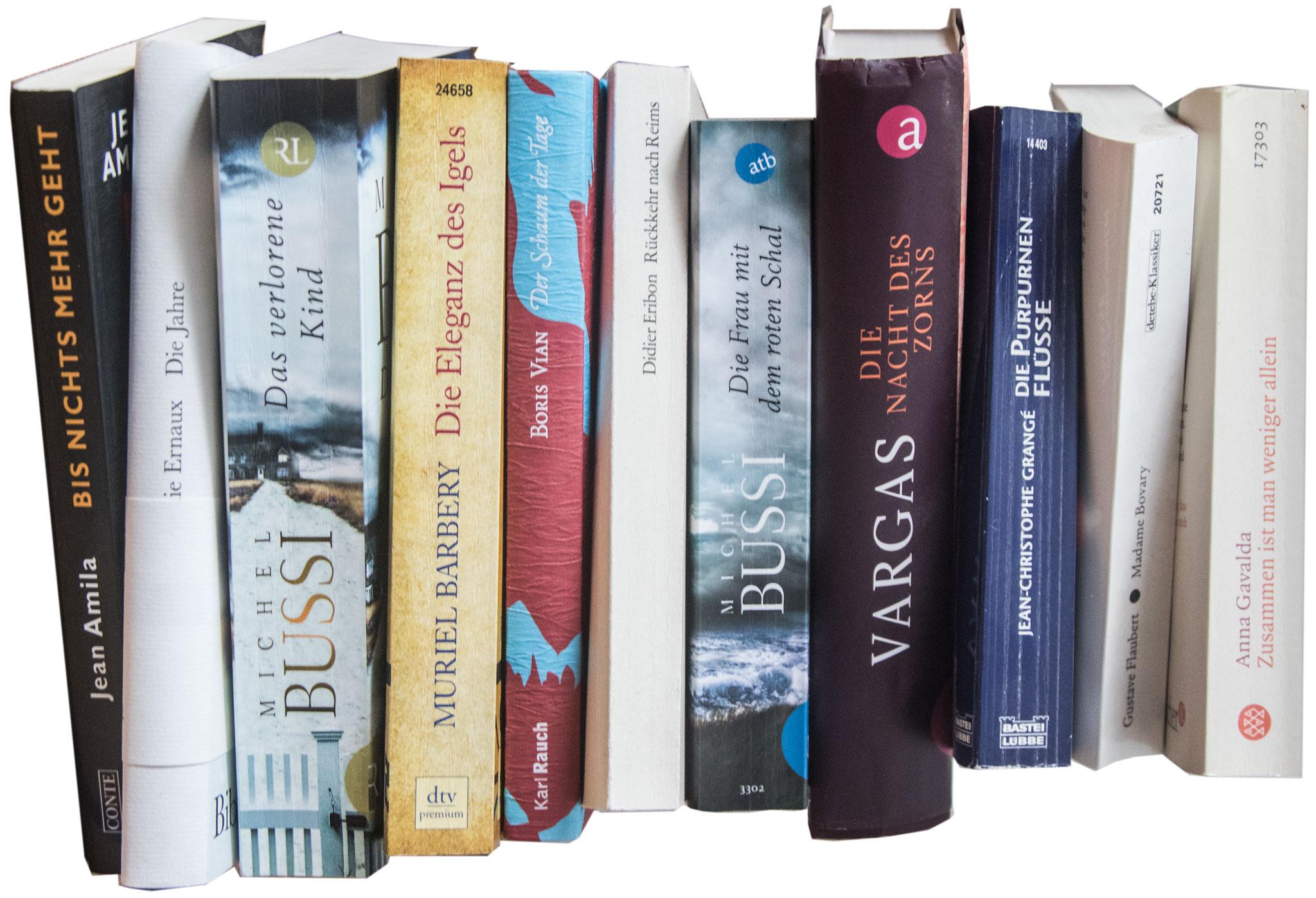 Französische Bücher zur Frankfurter Buchmesse
