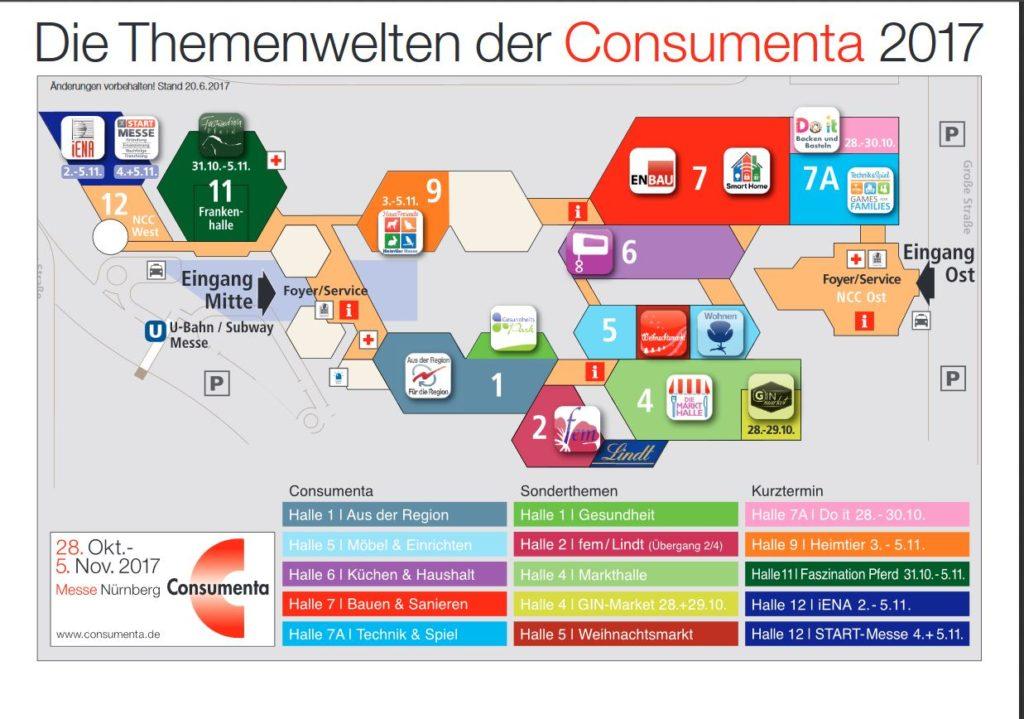 Hallenplan consumenta 2017