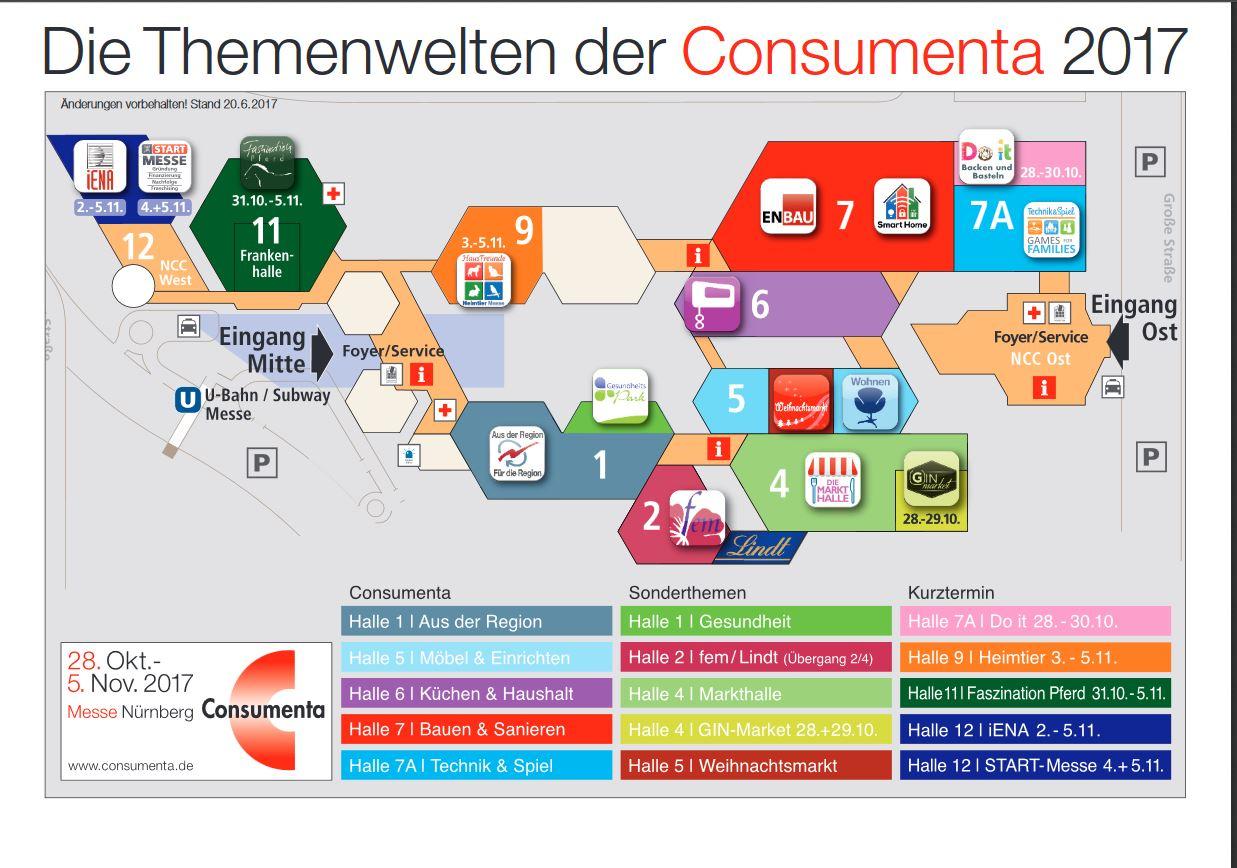 Hallenplan consumenta