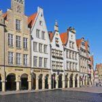 Münsters Prinzipalmarkt ist bekannt für seinen exklusiven Einzelhandel.