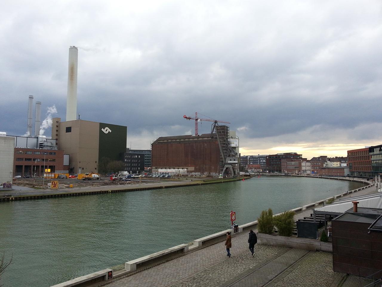 Münster, Hafen