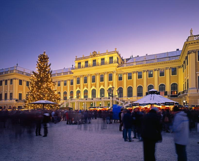 Weihnachten in Wien Schönbrunn