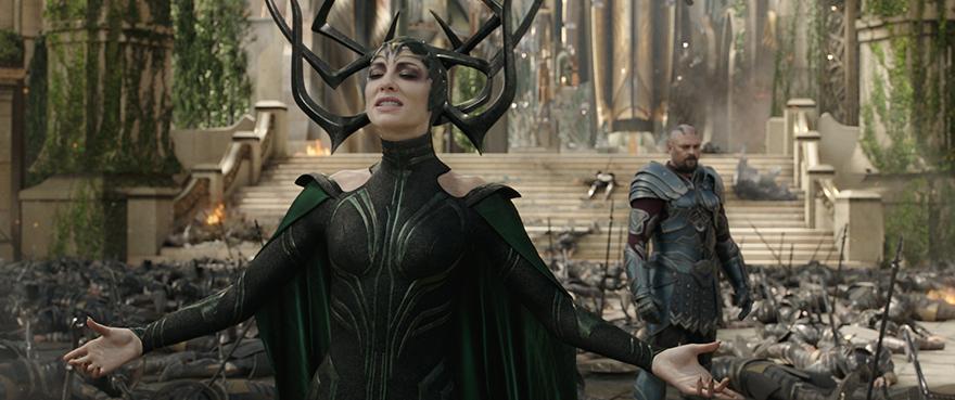 Hela (Cate Blanchett) strebt nach Macht
