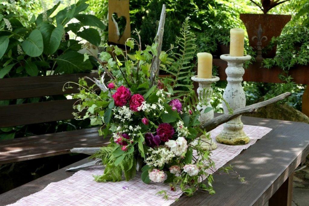 Floristik mit Rosen