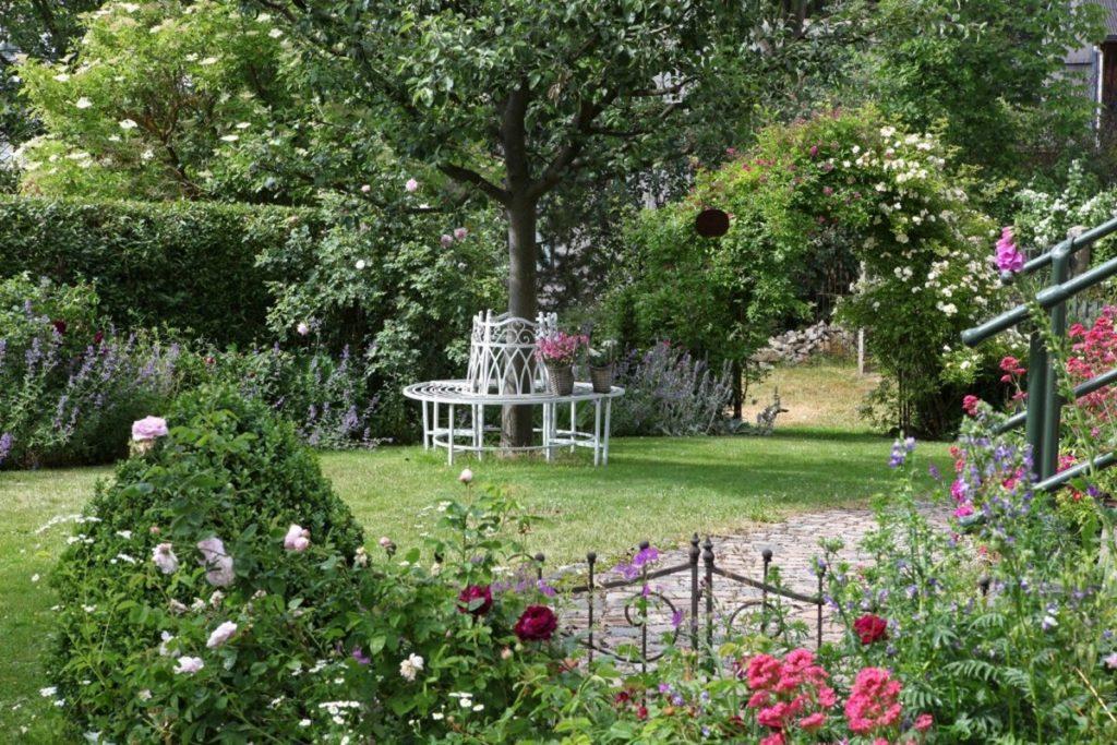 Rosengarten im Fichtelgebirge