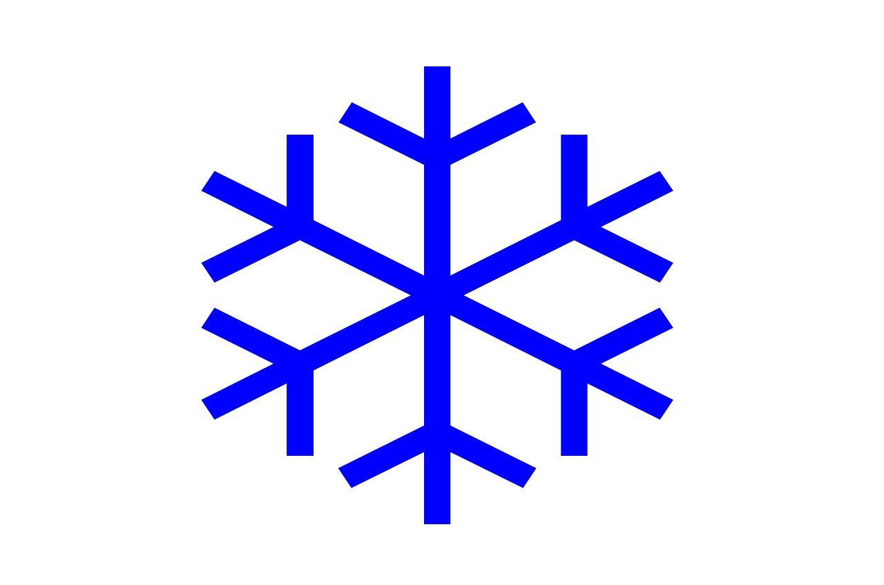 Schneeflocke, Symbol
