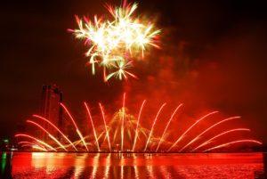 Professionelles Feuerwerk
