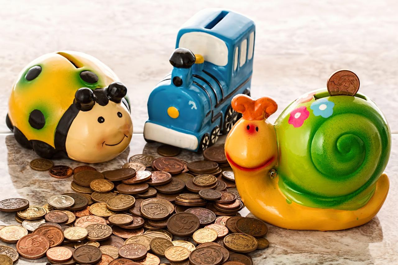 Sparen mit Kindern: Mit etwas Planung und offenen Augen ist das gar nicht so schwer.