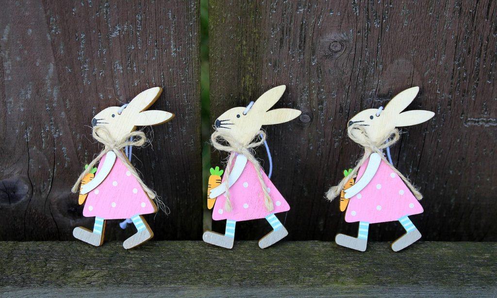 Kleine Osterhasenparade
