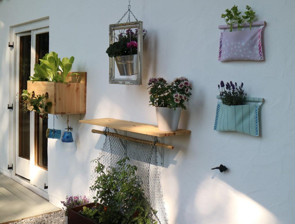 Gärtnern an der Wand, Vertical Gardening