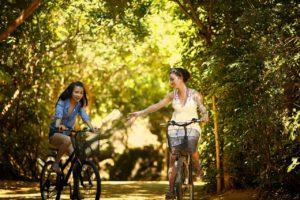 Sportarten Frühling: Radfahren