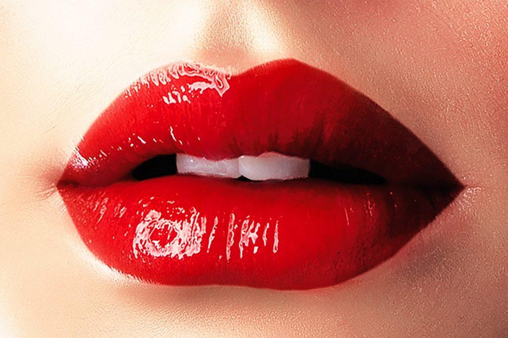 Roter Lippenstift - kommt nie aus der Mode