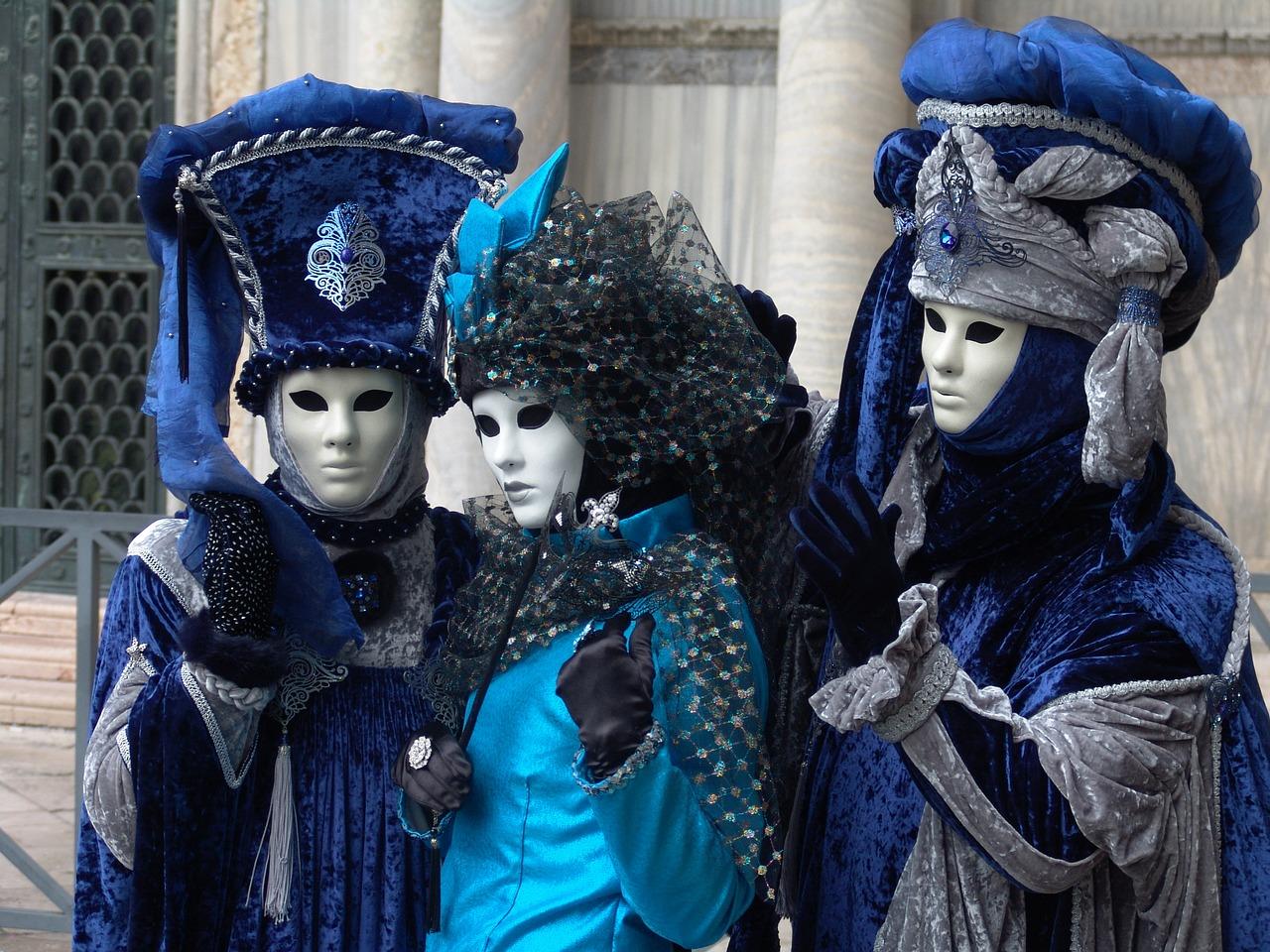masken und kostümierung in Venedig
