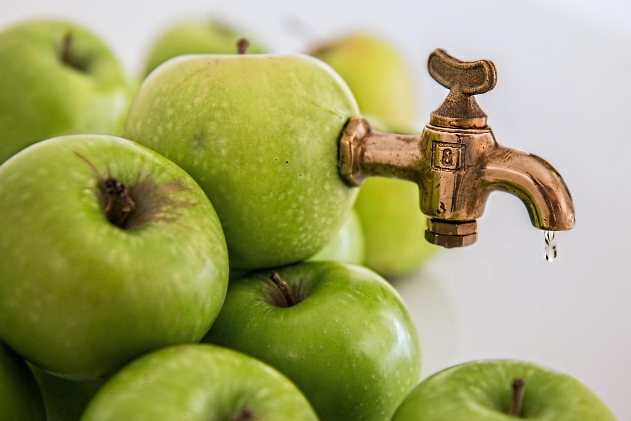 Äpfel zum Entsaften