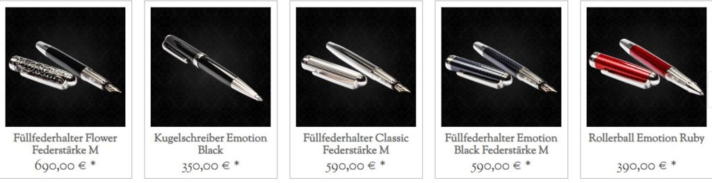 Luxusfüller und Kullis
