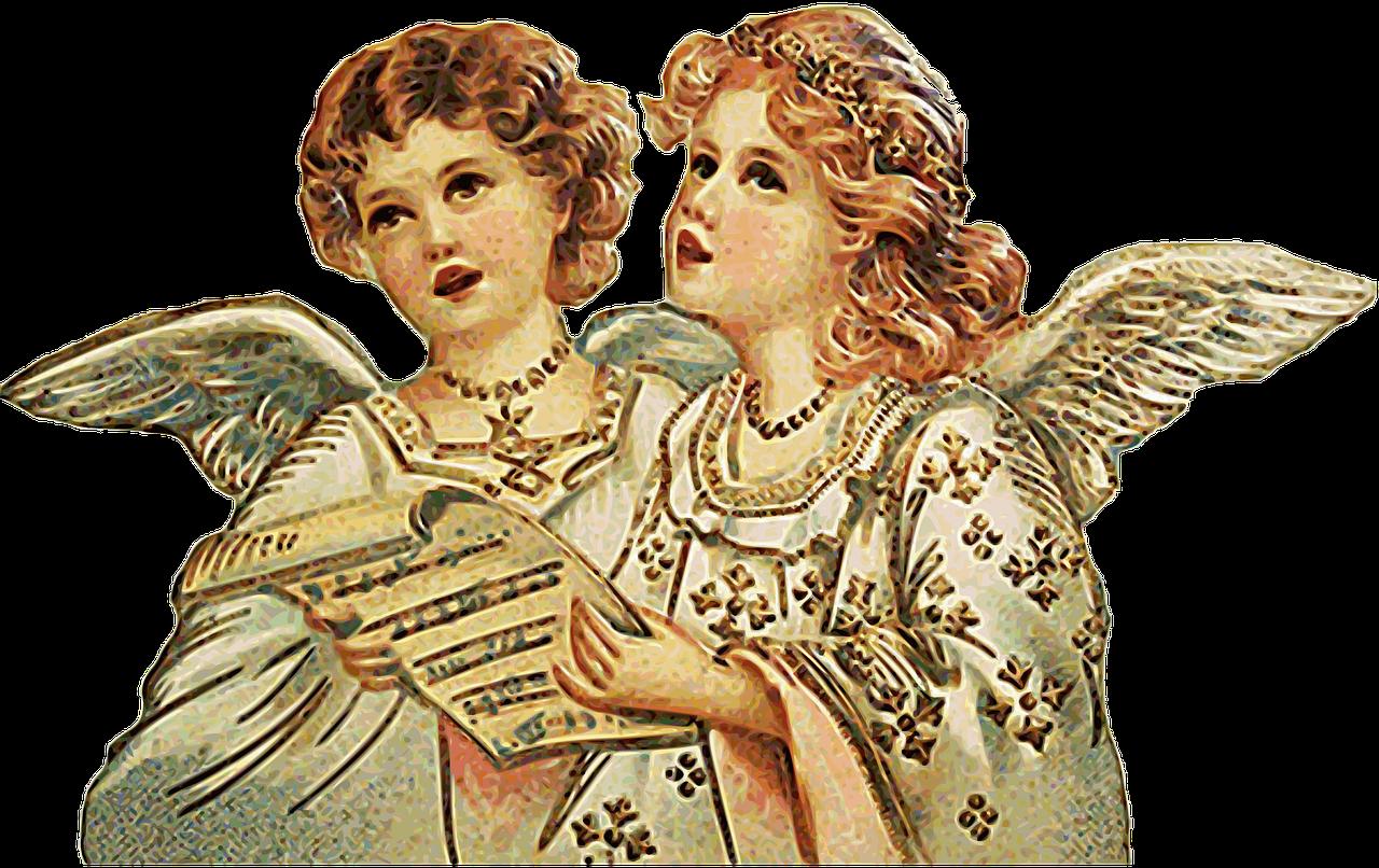 Engel singen Stille Nacht