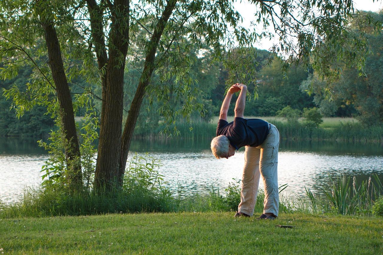 Outdoorsport gegen Gelenkschmerzen