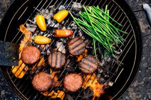 Beyond Burger von Beyond Meat auf dem Grill